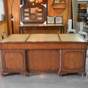 Kittinger Leather Inlaid Desk