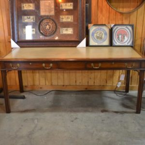 Leather Inlaid Desk by Kittinger