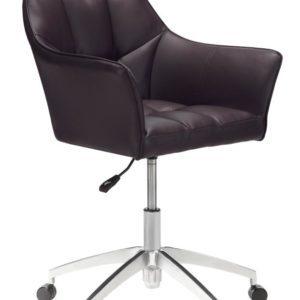 Office Black Leather Jadedn BEF666562
